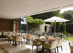 DESIGNRESTAURANTS The Brasserie at Lucknam Park Hotel & Spa - Chippenham, Wiltshire | Club offers available
