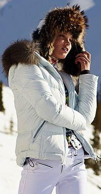 Fine luxury ski clothing, high-end apparel, ski wear and cashmere sweaters for the luxurious mountain lifestyle at Gorsuch Snow Fashion, Winter Fashion, Apres Ski Outfits, Ski Bunnies, Bunny, Chalet Chic, Ski Socks, Ski Wear, Fashion Mode
