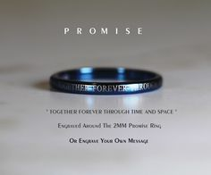 Doctor Who promise ring