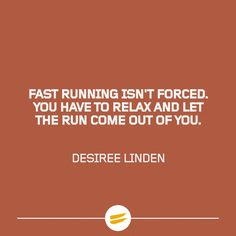 Fast running isn-t forced