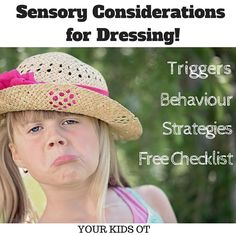 Sensory Considerations for Dressing