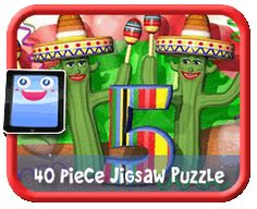 Cinco de Mayo 6 Piece Online jigsaw puzzle for kids