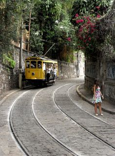 I lived here and rode the 'bonde' (tram) in Santa Teresa, Rio de Janeiro, Brasil. Such an amazing city. Cidade maravilhosa indeed. Places Around The World, Oh The Places You'll Go, Travel Around The World, Places To Travel, Places To Visit, Around The Worlds, Wonderful Places, Beautiful Places, Accor Hotel