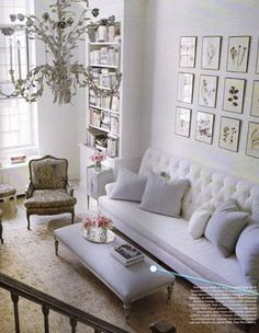 All white rooms!