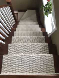Stairs Runner Chevron Herringbone Runner Stair Runner You are in the right place about carpet stairs Carpet Staircase, Staircase Runner, Staircase Remodel, Sisal Stair Runner, Staircase Design, Modern Staircase, Edwardian Staircase, Staircase Ideas, Building Stairs