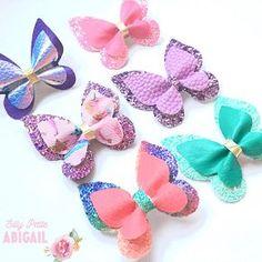Clips mariposa arcos pasadores de pelo simple o doble capa de