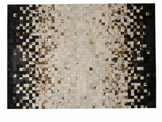 Morro Cowhide Area Rug | Vielle and Frances - I don't want to like this, but I really, really do.