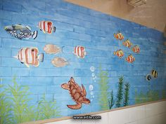 """""""Manufacturing handmade ceramic tiles for swimming pools"""" Swimming Pool Tiles, Iranian, Neon Signs, Ceramics, Handmade, Painting, Ceramica, Pottery, Hand Made"""