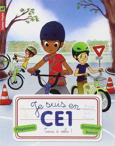 Amazon.fr - Je suis en CE1, Tome 8 : Tous à vélo ! - Magdalena, Emmanuel Ristord - Livres