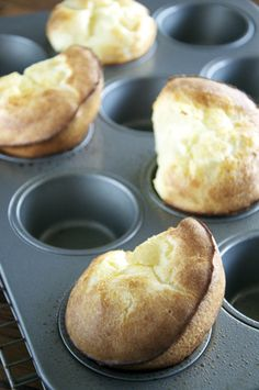 Popovers from My Baking Heart for TWD: Baking With Julia
