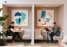 WeWork Tops Big Banks In Manhattan Office Space – Office lounge Cool Office Space, Office Space Design, Workspace Design, Office Workspace, Office Interior Design, Office Decor, Working Space Design, Office Inspo, Office Ideas