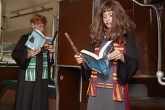 The world of wizardry is waiting for them to get all geared up and as transfixed as these children are in the adventure.