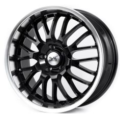 4 Black Alloy Wheels BK866 5X112 5X120 Audi Vw T5 Bmw 3 Series E90 E36 E46 x4 **save on Tyres 01392 20 30 51 **