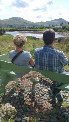 Enjoying the view! Sneem River Sneem Ireland