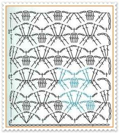 As Receitas de Crochê: Gráficos de pontos de crochê
