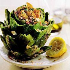 Sicilian Artichokes by recipe.com #Artichokes