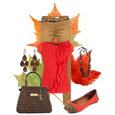 Autumn Leaves by elenh2005 on Polyvore