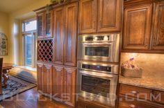 Oak Cabinets With Glaze Finish | Glaze Finish 2