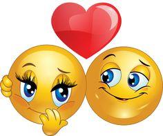 Smileys in Love