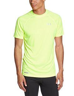 3009b1b9bc955 Under Armour - Camiseta de running en color amarillo para chico  camiseta   friki  moda  regalo