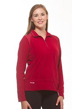 1bb33295e6d Amazon.com  PING light-weight women s quarter zip fleece pullover  Sports    Outdoors