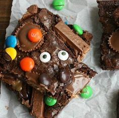 Impress your halloween party guests with these halloween food ideas!  There is something for everyone here. There are creepy halloween foods for adults and cute treats for kids. These halloween food ideas include creepy cookies, spooktacular snacks, frightful fruit trays and eerie entrees. Cookies Mummy Pumpkin Cookies from OMG Chocolate Desserts Spider Infested Chocolate Chip Cookies from …