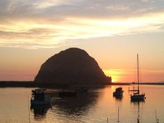 Love this shot! Been there many times! Nice! Morro Bay / California - #sunset