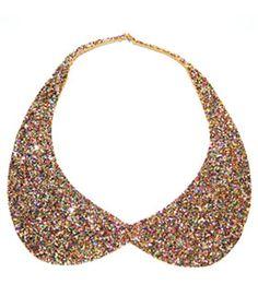 DIY Glitter Collar
