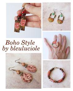 """Boho Style"" by bleuluciole ❤ liked on Polyvore"