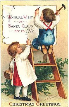 Vintage Christmas Card clapsaddle