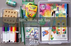little picasso: DIY little artists gift box