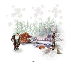 """""""Winter at the Cabin."""" by julidrops on Polyvore featuring art"""