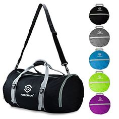 07d506bc4ecf Why Freeman Foldable Duffel Gym Bag❖-Carry your light travel or your  outdoor adventure
