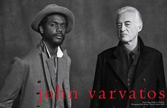 John Varvatos NYC Gary Clark junior and Jimmy Page