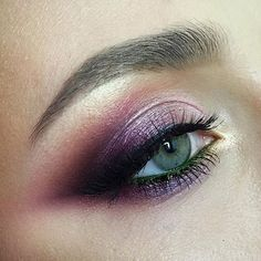 pinterest: bellaxlovee ✧☾ eye makeup - http://amzn.to/2hGJKkg