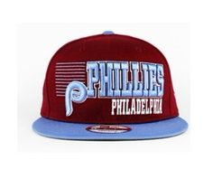 New Era MLB Philadelphia Phillies Snapback Hats Caps Red Blue 3846! Only $8.90USD