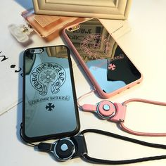 Chrome Hearts Horshoes Printed Mirror iPhone 5/5s/6/6s Case