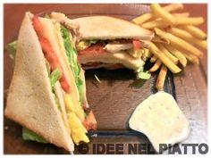 CLUB SANDWICH http://blog.giallozafferano.it/ideenelpiatto/club-sandwich/
