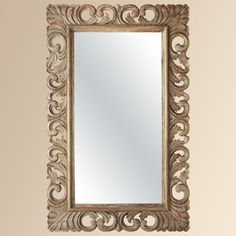Porter Rustic Carved Mirror  from Arhaus Furniture on Catalog Spree, my personal digital mall.
