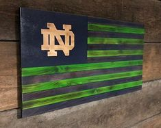 Check out our notre dame football sign selection for the very best in unique or custom, handmade pieces from our shops.