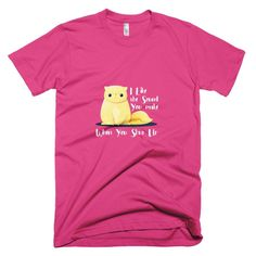 Shut-Up Cat  #teeshirt #meow #persiancat #funnycat #funny #kittens #dachshund #cat #dogs #puppy