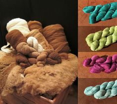 Paco-Vicuna yarns and fibers & our 4 new hand-dyed colorways of Shangri-La will be waiting for you in the Bijou Basin Ranch booth at SAFF!