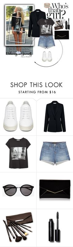 """Amaizing dayout with frenz!!!!"" by jamila888 ❤ liked on Polyvore featuring Off-White, Atea Oceanie, MANGO, J Brand, Yves Saint Laurent, Furla, Borghese and Bobbi Brown Cosmetics"