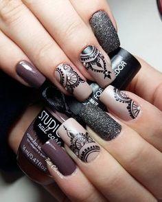 """306 Me gusta, 5 comentarios - Tati Oliveira (@tati.oliveira.unhas) en Instagram: """"Lindas #nailart #nails2inspire #unhasdasemana #colorpolish #esmaltadas #esmalte #loveunhas…"""""""