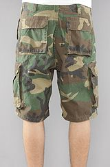 Rothco The Vintage Paratrooper Cargo Shorts in Olive Camo