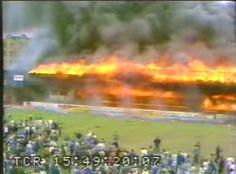 The 1985 Bradford City Stadium Fire Remembered.