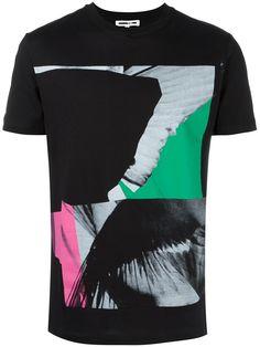 McQ Alexander McQueen camiseta con collage de alas