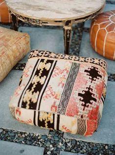 24 Ideas For Home Interior Bohemian Floor Pillows