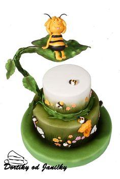 "Cake"" Little bee Maja"" by dortikyodjanicky"