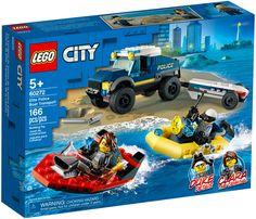 Lego City Police Sets, Lego City Toys, Boat Transport, City Elite, Construction Lego, Police Truck, Free Lego, Lego Builder, Xmas